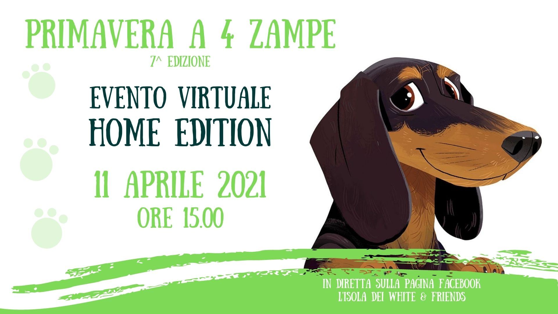 Primavera a 4 zampe 2021 – Home Edition